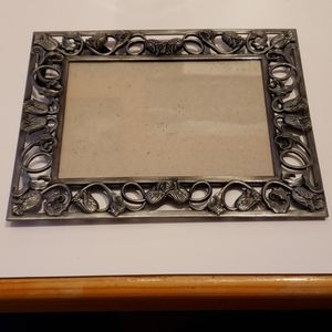 Metal Floral 5×7 Picture frame